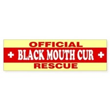 BLACK MOUTH CUR Bumper Bumper Sticker