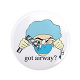 "Got airway? 3.5"" Button"