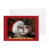 """Merry Little Christmas"" Greeting Cards (Pk of 20)"