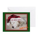 """Naughty or Nice"" Greeting Cards (Pk of 20)"