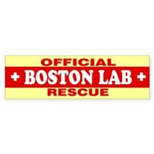BOSTON LAB Bumper Bumper Sticker