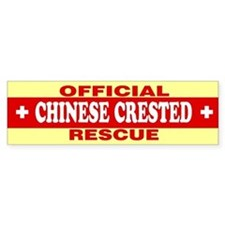 CHINESE CRESTED Bumper Bumper Sticker
