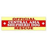 CENTRAL ASIA SHEPHERD DOG Bumper Bumper Sticker