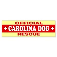 CAROLINA DOG Bumper Bumper Sticker