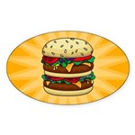 Burger Sticker!