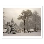 Winter Landscape Photo Small Poster