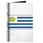 Uruguay Blank Flag Journal