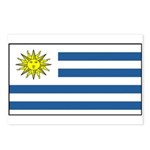 Uruguay Blank Flag Postcards (Package of 8)
