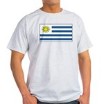 Uruguay Blank Flag Light T-Shirt