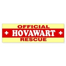 HOVAWART Bumper Bumper Sticker