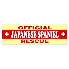 JAPANESE SPANIEL Bumper Bumper Sticker