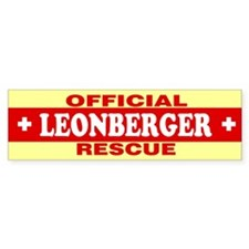 LEONBERGER Bumper Bumper Sticker