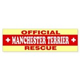 MANCHESTER TERRIER Bumper Bumper Sticker