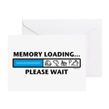 Memory Loading Guy Greeting Card