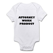 attorney work product baby Body Suit