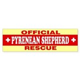PYRENEAN SHEPHERD Bumper Car Sticker