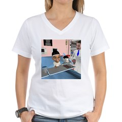 Karlo's Chemo Women's V-Neck T-Shirt