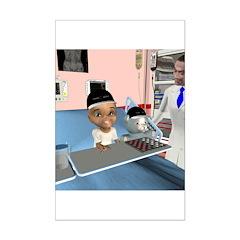 Karlo's Chemo Mini Poster Print