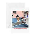Karlo's Chemo Greeting Card