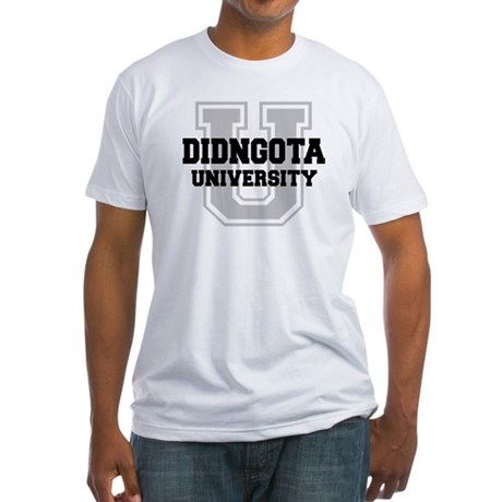 DIDNGOTA University Fitted T-Shirt