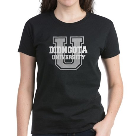 DIDNGOTA University Women's Dark T-Shirt