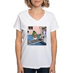Katrina's Chemo Women's V-Neck T-Shirt