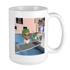 Katrina's Chemo Large Mug