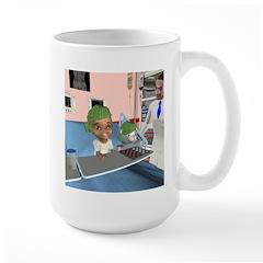 Katrina's Chemo Large Mug