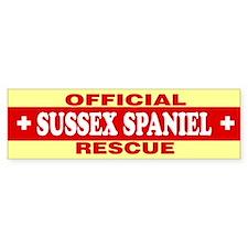 SUSSEX SPANIEL Bumper Bumper Sticker