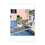 Kit's Chemo Mini Poster Print