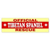 TIBETAN SPANIEL Bumper Car Sticker