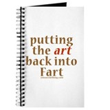 Art Back Into Fart Journal