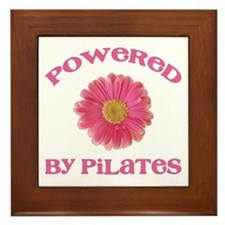 Powered by Pilates Framed Tile