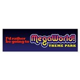 MegaWorld Bumper Bumper Sticker