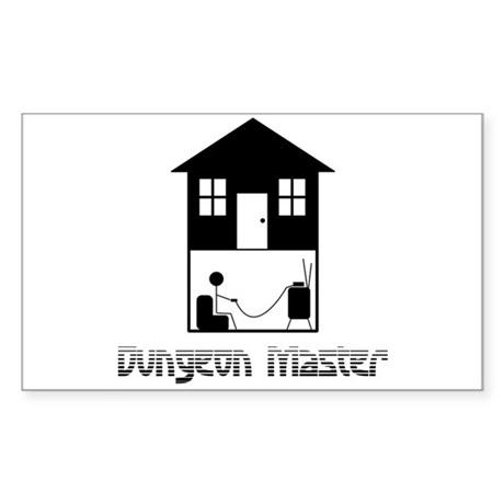 Dungeon Master Rectangle Sticker
