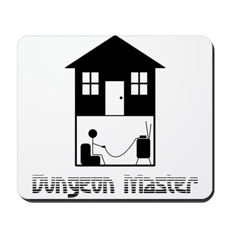 Dungeon Master Mousepad