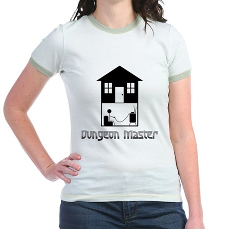 Dungeon Master Jr Ringer T-Shirt