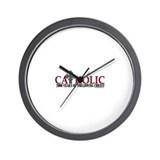 Cute Catholic Wall Clock