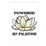 Powered by Pilates Lotus Postcards (Package of 8)