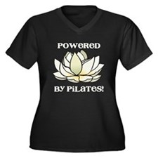 Powered by Pilates Lotus Women's Plus Size V-Neck