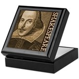 Droeshout's Shakespeare Keepsake Box