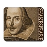 Droeshout's Shakespeare Mousepad