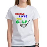 Makaila Lives for Golf - Tee