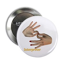 "Female Interpreter 2.25"" Button"