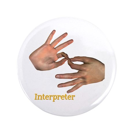 "Male Interpreter 3.5"" Button"