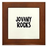 Jovany Rocks Framed Tile