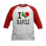 I Love Napoli Italian Tee