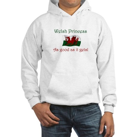 Welsh Princess Hooded Sweatshirt
