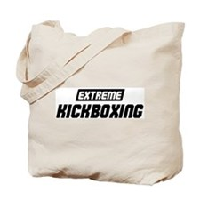 Extreme Kickboxing Tote Bag
