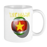 Suriname Soccer Football Mug